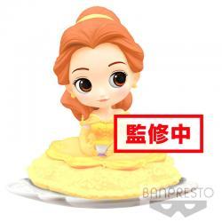 Figura Bella La Bella y la Bestia Disney Q Posket B 14cm - Imagen 1