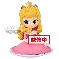 Figura Aurora La Bella Durmiente Disney Q Posket Sugirly A 9cm - Imagen 1