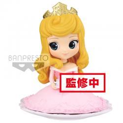 Figura Aurora La Bella Durmiente Disney Q Posket Sugirly B 9cm - Imagen 1