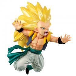 Figura Ichibansho Super Saiyan3 Gotenks Rising Fighters Dragon Ball Z 11cm - Imagen 1