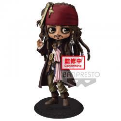 Figura Jack Sparrow Piratas del Caribe Disney Q Posket A 14cm - Imagen 1