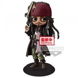 Figura Jack Sparrow Piratas del Caribe Disney Q Posket B 14cm - Imagen 1