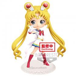 Figura Super Sailor Moon Sailorn Moon Eternal The Movie Q Posket A 14cm - Imagen 1