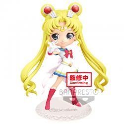 Figura Super Sailor Moon Sailorn Moon Eternal The Movie Q Posket B 14cm - Imagen 1