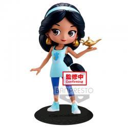 Figura Jasmine Avatar Style Aladdin Disney Q Posket B 14cm - Imagen 1