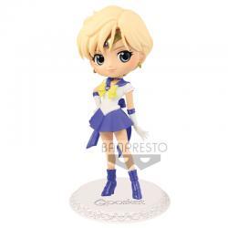 Figura Super Sailor Uranus Eternal Sailor Moon Q Posket B 14cm - Imagen 1