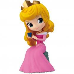 Figura Princesa Aurora Disney Character Q posket perfumagic A 12cm - Imagen 1