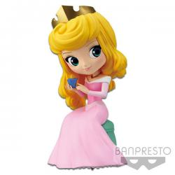 Figura Princesa Aurora Disney Character Q posket perfumagic B 12cm - Imagen 1