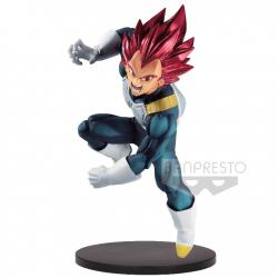 Figura Super Saiyan God Vegeta Dragon Ball Super Bood of Saiyans Special VII 20cm - Imagen 1