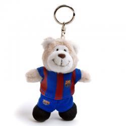 Peluche llavero Oso FC Barcelona Nici 10cm - Imagen 1