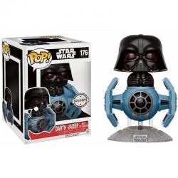 Figura POP Star Wars Darth Vader Tie Fighter 15cm Exclusive - Imagen 1