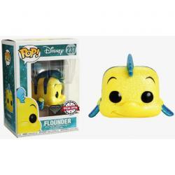 Figura POP Disney The Little Mermaid Flounder Glitter Exclusive - Imagen 1