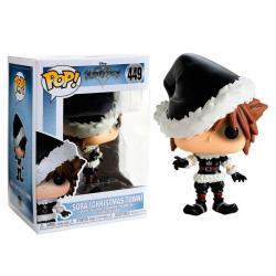 Figura POP Disney Kingdom Hearts Christmastown Sora Exclusive - Imagen 1