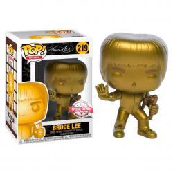 Figura POP Game of Death Bruce Lee Gold Exclusive - Imagen 1