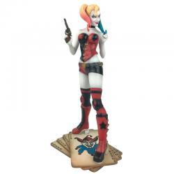 Estatua diorama Harley Quinn Rebirth DC Comics 23cm - Imagen 1