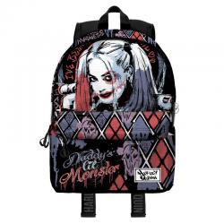 Mochila Harley Quinn DC Comics 44cm - Imagen 1