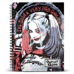 Cuaderno A5 Harley Quinn DC Comics - Imagen 1