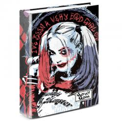 Carpeta A4 Harley Quinn DC Comics anillas - Imagen 1
