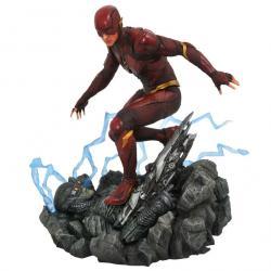 Estatua diorama The Flash Liga de la Justicia DC Comics 23cm - Imagen 1