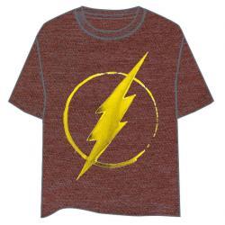 Camiseta Logo Flash DC Comics adulto - Imagen 1
