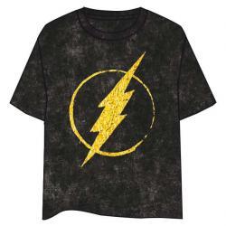 Camiseta Logo Flash Gold DC Comics adulto - Imagen 1