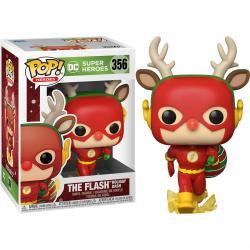 Figura POP DC Holiday Rudolph Flash - Imagen 1