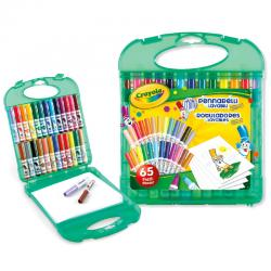 Maletin Rotuladores Lavables Crayola 65pzs - Imagen 1