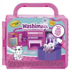 Mini Playset Peluqueria Canina Washimals Crayola - Imagen 1