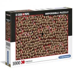 Puzzle Imposible La Casa de Papel 1000pz - Imagen 1