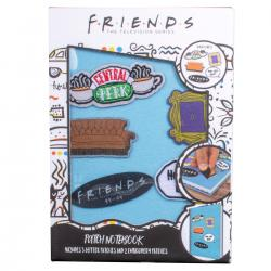 Cuaderno parches velcro Friends - Imagen 1