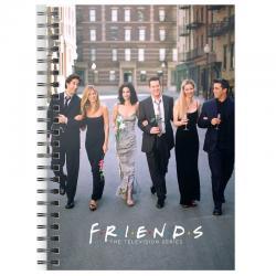 Cuaderno A5 Ciudad Friends - Imagen 1