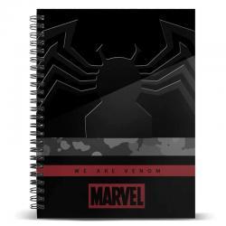 Cuaderno A4 Venom Monster Marvel - Imagen 1