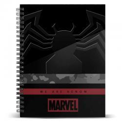 Cuaderno A5 Venom Monster Marvel - Imagen 1