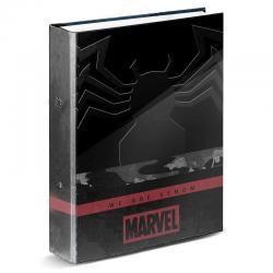 Carpeta A4 Venom Monster Marvel anillas - Imagen 1