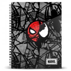 Cuaderno A5 Venom Infection Marvel - Imagen 1