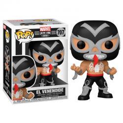 Figura POP Marvel Luchadores Venom El Venenoide - Imagen 1