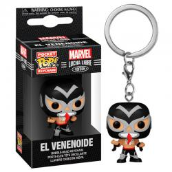 Llavero Pocket POP Marvel Luchadores Venom El Venenoide - Imagen 1
