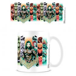 Taza Character Bands Aquaman DC Comics - Imagen 1