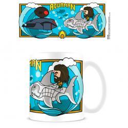 Taza Tiburon Aquaman DC Comics - Imagen 1