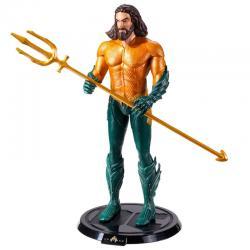 Figura Maleable Bendyfigs Aquaman DC Comics 19cm - Imagen 1