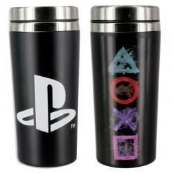 Vaso viaje logo iconos Playstation - Imagen 1