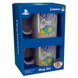Set tazas Player 1 & 2 Playstation - Imagen 1