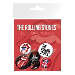 Set chapas Lips The Rolling Stones - Imagen 1