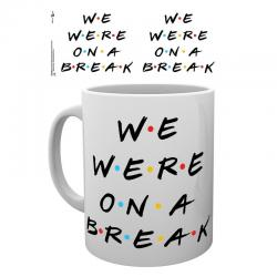 Taza Friends We Were On A Break - Imagen 1