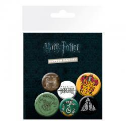 Set chapas Harry Potter - Imagen 1