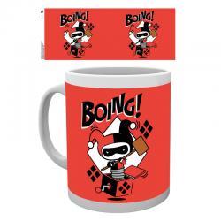Taza Harley Quinn Boing Chibi DC - Imagen 1