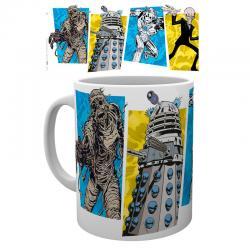 Taza Doctor Who Panels - Imagen 1