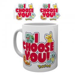 Taza Pokemon I Choose You - Imagen 1