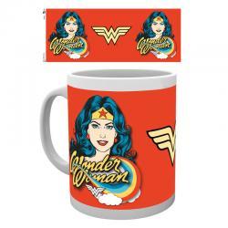 Taza Wonder Woman face - Imagen 1