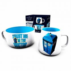Set desayuno Tardis Doctor Who - Imagen 1